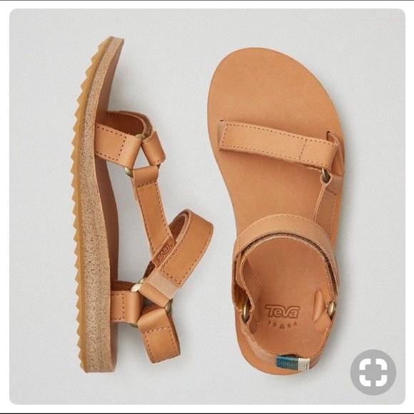 7ff1ea009398 TEVA original women s crafted leather sandal tan 8.  M 5b041795f9e501d2a0a89e41